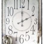 Uhr im XL Format