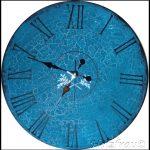sehr große Uhr für die Wand