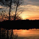 Seeeweiher Sonnenuntergang